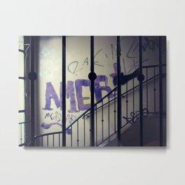 VACANCY - Stairs  - JUSTART © Metal Print