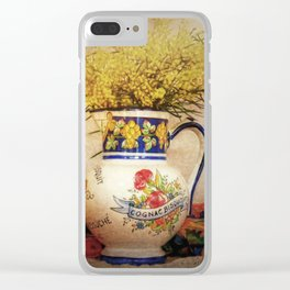 Last Of The Wattle Clear iPhone Case