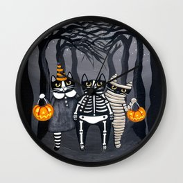 The Trick or Treat Gang Wall Clock