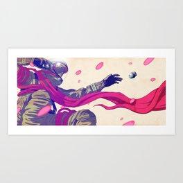 SOS Sakura Art Print