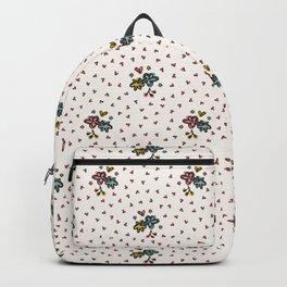 Cute Ditsy Daisy Heart Sprinkles Flowery Garden Backpack