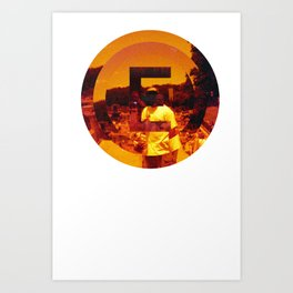 n for new york Art Print