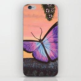 L'amour est un papillon iPhone Skin