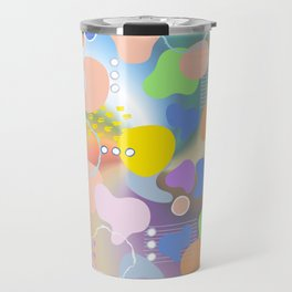 Colorful Place Travel Mug