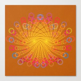 Spiro Graphic Canvas Print