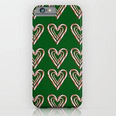 Triple Candy Cane Print iPhone 6s Slim Case