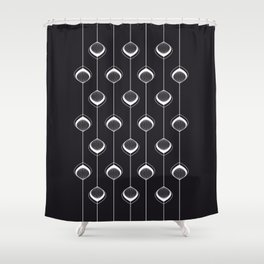 Peacock-Lampions Shower Curtain