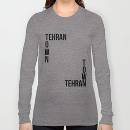 Tehran Town Long Sleeve T-shirt