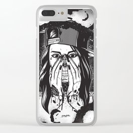 Pretty death ;) Clear iPhone Case