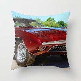 Rare 1963 Shelby Cougar II Throw Pillow