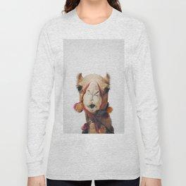 Camel Long Sleeve T-shirt