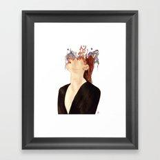 Mind/Matter Framed Art Print