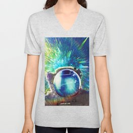 Colorful Abyss Unisex V-Neck
