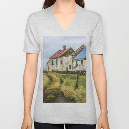 Crumbling Beauty Unisex V-Neck