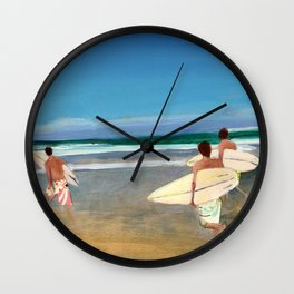 The Boys of Summer Wall Clock