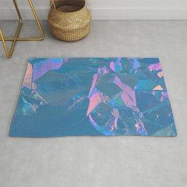 Holographic Artwork No 2 (Crystal) Rug