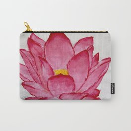 Purely Lotus Carry-All Pouch