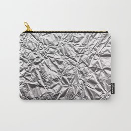 Silver Paper Carry-All Pouch