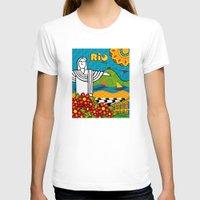 rio de janeiro T-shirts featuring Rio de Janeiro 2015 by Monica Fuchshuber