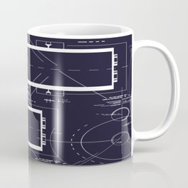 Technique pattern 3 Coffee Mug