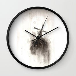 Misty mill Wall Clock