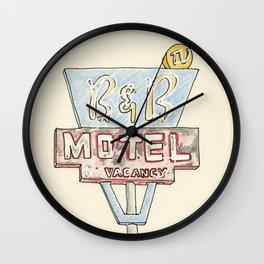 B & B Wall Clock