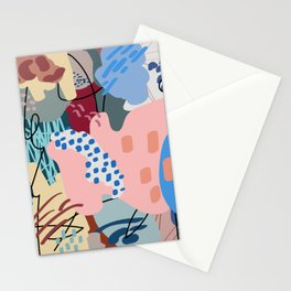 Autumn Abstraction Poster Stationery Cards