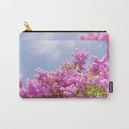 Lilac vibrant pink bunches Carry-All Pouch