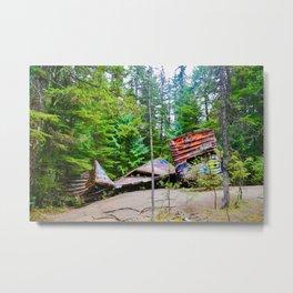 whistler train wreck, 2017 Metal Print