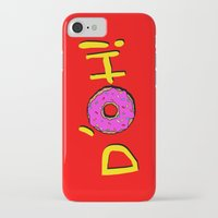 simpsons iPhone & iPod Cases featuring The Simpsons: D´oh! by dutyfreak