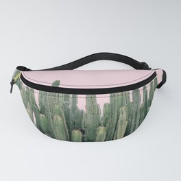 Pink Sky Cactus Fanny Pack