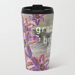 GRATITUDE BRINGS HOPE Travel Mug