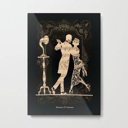 Romance D Automne Metal Print