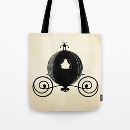 Midnight Carriage Tote Bag
