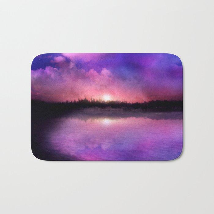 Sunset magic Bath Mat