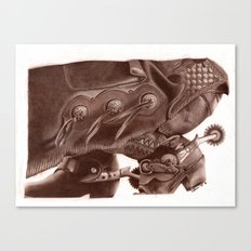 Chinks Canvas Print