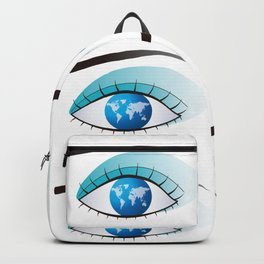 Eye to watch the world Backpack
