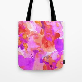 Lava Elements (Cosmic Watercolour) Tote Bag