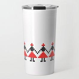 romanian traditional Travel Mug