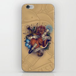 All of Time and Space iPhone Skin