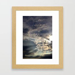 Temperamental Sky Framed Art Print