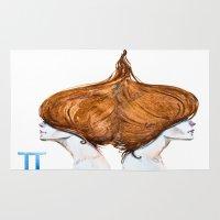 gemini Area & Throw Rugs featuring Gemini by Aloke Design