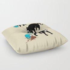 Coffee Cat Floor Pillow