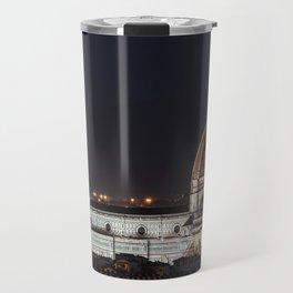 Night image of the Florence Cathedral Travel Mug