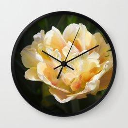Foxy Foxtail Wall Clock