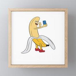 Send Nudes! Mobile Phone Funny Adult Humor Shirt For Adults T-shirt Design Naughty Fuck Sex Vagina Framed Mini Art Print