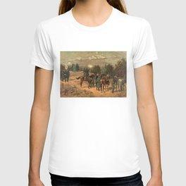 Civil War Battle of Chattanooga by Thulstrup T-shirt