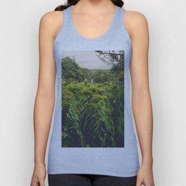 Jungle Waterfall II Unisex Tank Top