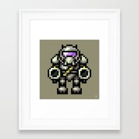 trooper Framed Art Prints featuring Trooper by HOVERFLYdesign