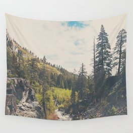 into the wild ...  Wall Tapestry